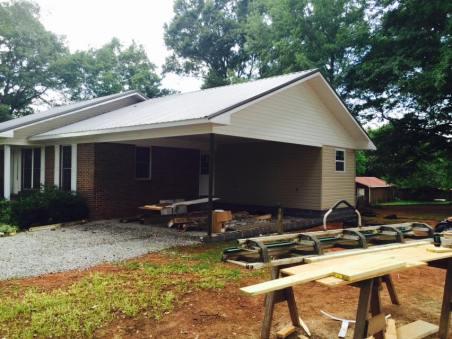 garage addition after