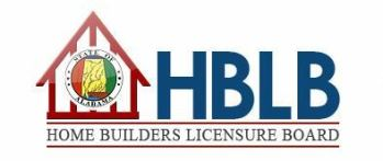 Alabama Home Builders Licensure Board